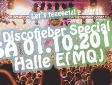 Discofieber XXL – am 1.Oktober sehen wir uns im MQ!