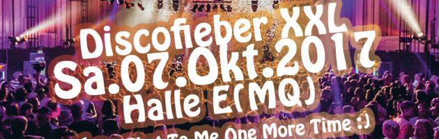 Discofieber XXL am 7.Oktober im MQuuuu!