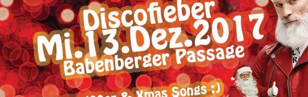 Discofieber X-Mas – Mi, 13.12. – Passage
