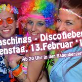 Discofieber Faschingsdiiiiienstag am 13.2.2018 in der Passage