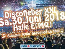 Discofieber XXL am 30.Juni – Let's discoooo