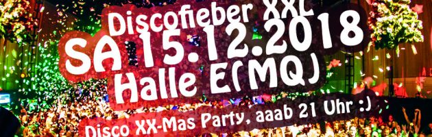 Discofieber XX-Mas am 15.12. ab 21 Uhr :)